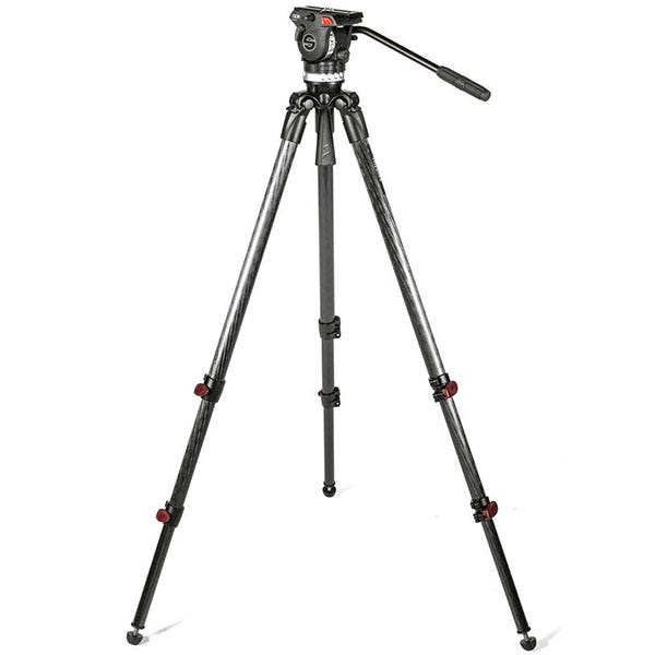 Sachtler Ace L TT 75/2 Carbon Fiber Tripod with Ace L Fluid Head 1013