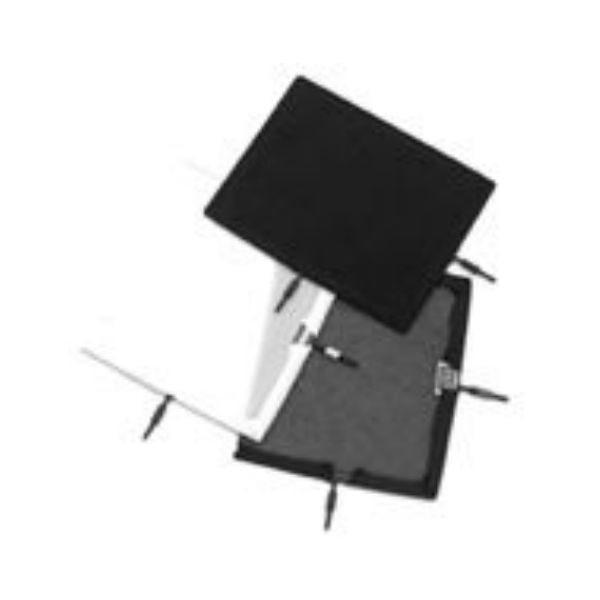 "Matthews Studio Equipment Flex Scrim - 12"" x 20"" - Single Black 238223"