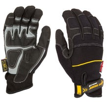 Dirty Rigger Black Comfort Fit Gloves - X-Large