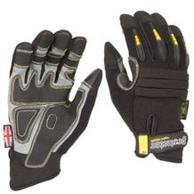 Dirty Rigger Black Protector Gloves - X-Large