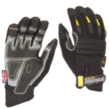 Dirty Rigger Black Protector Gloves (Various Sizes)