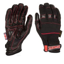 Dirty Rigger Black Phoenix Heat Resistant Gloves - Large