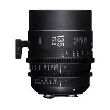 Sigma 135mm T2.0 FF High-Speed Prime - EF Mount