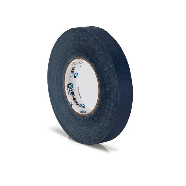 "Pro-Gaff 1"" Gaffer Tape (Camera Tape) - Dark Blue"