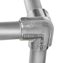 """Hollaender 1-1/4"""" Speedrail Fitting 9 Side Outlet Elbow"""