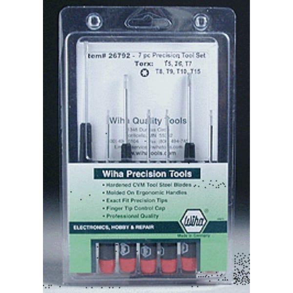 Wiha Precision 7 Piece Torx Set #26792