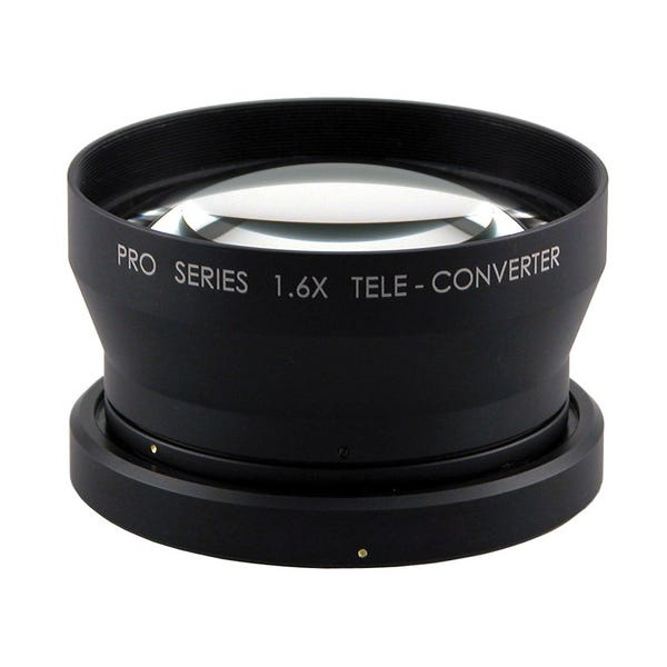 Century Precision Optics 1.6X Tele-Converter Lens for Canon XF300/305 Camcorder