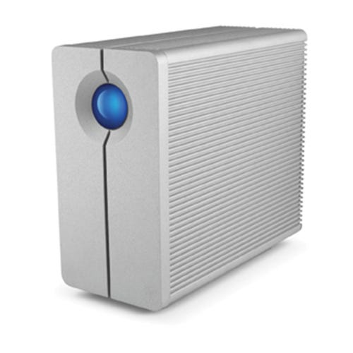 LaCie 10TB 2big Quadra USB 3.0 2-Bay RAID Array Drive
