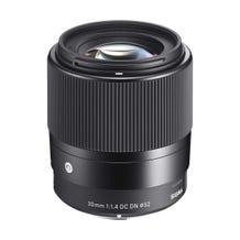 Sigma 30mm f/1.4 DC DN Contemporary Lens - E-Mount