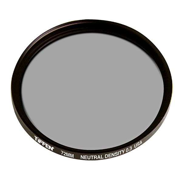 Tiffen 72mm Neutral Density (ND) Glass Filters 0.3-0.9