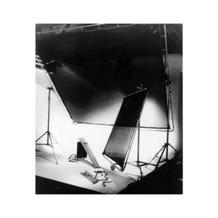 Matthews Studio Equipment 20 x 20' Butterfly/Overhead Fabric - Checkerboard Lame