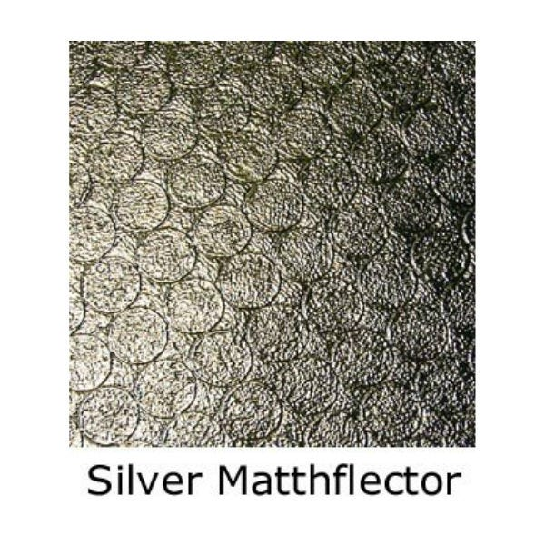 Matthews Studio Equipment 6 x 6' Butterfly/Overhead Fabric - Silver Matthflector