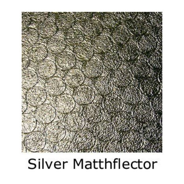 Matthews Studio Equipment 20 x 20' Butterfly/Overhead Fabric - Silver Matthflector