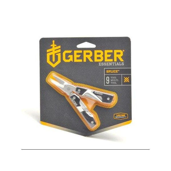 Gerber 31-000013 Splice Pocket Tool - Black Clam