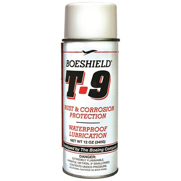 Boeshield T90012 12oz. Waterproof Lubricant & Rust Protection