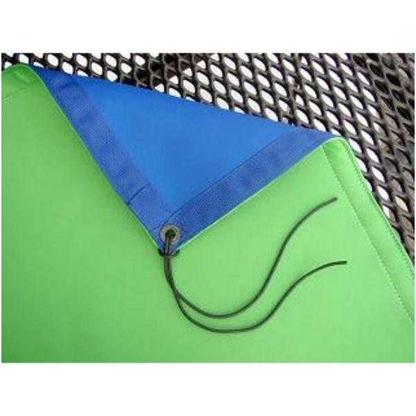 Matthews Studio Equipment 319162 6x6' Blue / Green Reversible Polyester Fabric Chromakey Screen