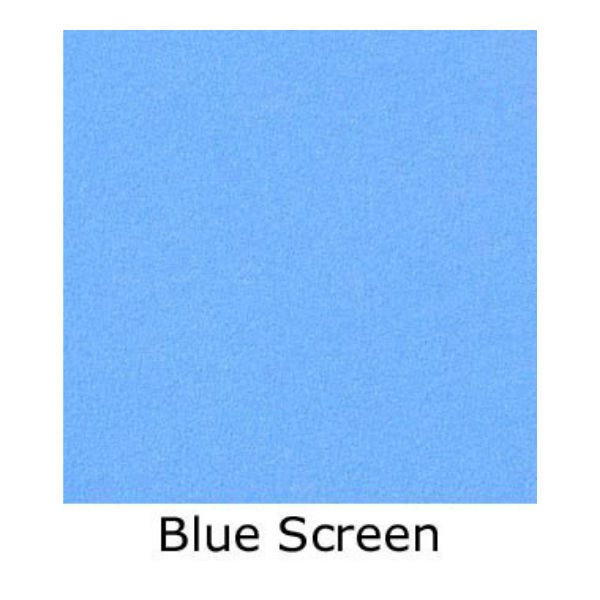Matthews Studio Equipment 12 x 12' Butterfly/Overhead Fabric - Blue Screen