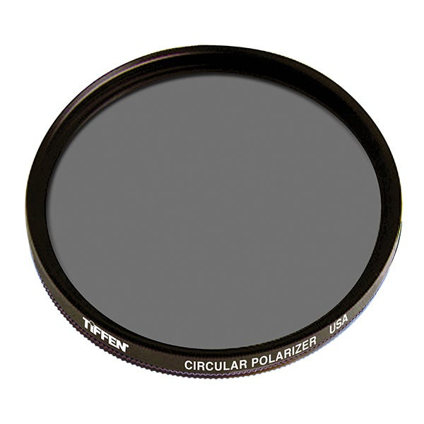 Tiffen 46mm Circular Polarizer Glass Filter