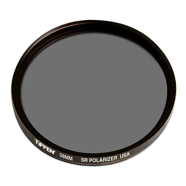 Tiffen 58mm Linear Polarizer Glass Filter