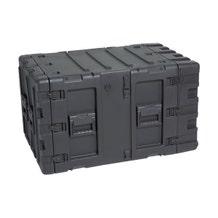 """SKB 9 RU Deep Static Shock Rack Transport Case - 24"""""""