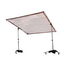 "Matthews Studio Equipment 8 x 8' Butterfly/Overhead Hollywood Frame - 1"" Square Tubing"