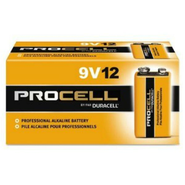 Duracell Procell 9V - 12 Pack