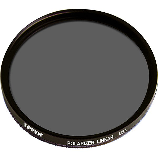 Tiffen 77mm Linear Polarizer Glass Filter