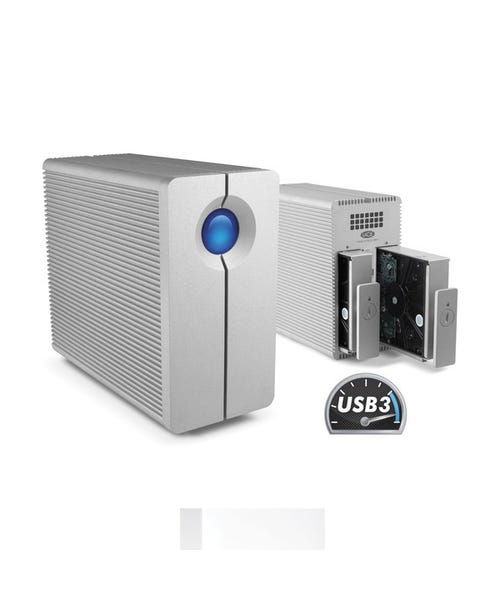 LaCie 12TB 2big Quadra USB 3.0 2-Bay RAID Array Drive