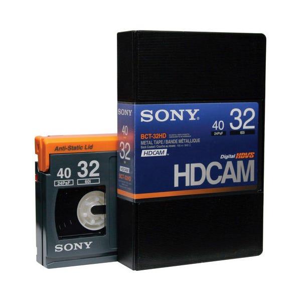 Sony HDCAM 32min Digital Video Tape - Small