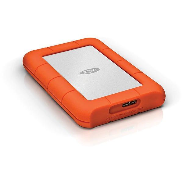 LaCie 4TB Rugged Mini Portable Hard Drive