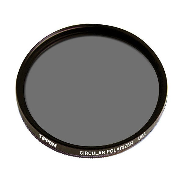 Tiffen 43mm Circular Polarizer Glass Filter