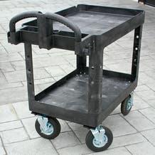 """Rubbermaid Camera Cart - 8"""" Pneumatic Tire Wheels"""