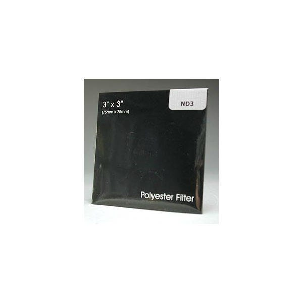 """Lee 3"""" Neutral Density Polyester Filters 0.1-0.9"""