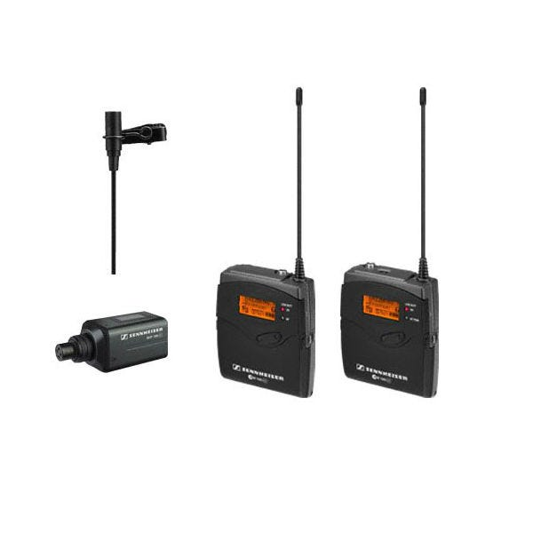 Sennheiser (503110) Evolution G3 100 Series Combo Wireless Lavalier Microphone System (A / 516 - 558MHz)