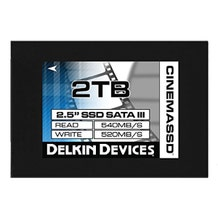 "Delkin 2TB Cinema 2.5"" Internal Solid State Drive"