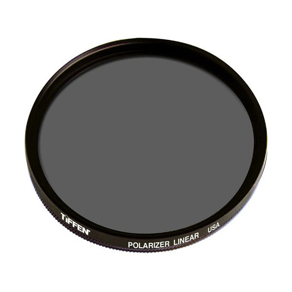Tiffen 52mm Linear Polarizer Glass Filter