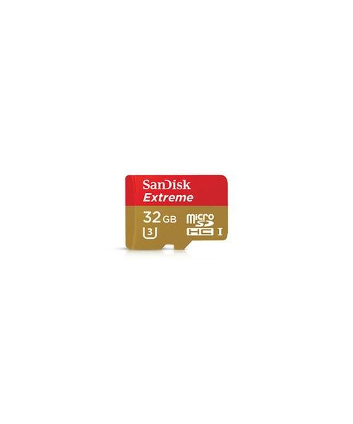SanDisk Extreme 32GB microSDHC UHS-I/U3 Memory Card
