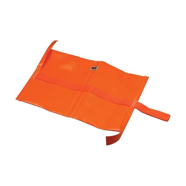 Matthews Studio Equipment 5 lbs Empty Water Repellant Sandbag - Orange