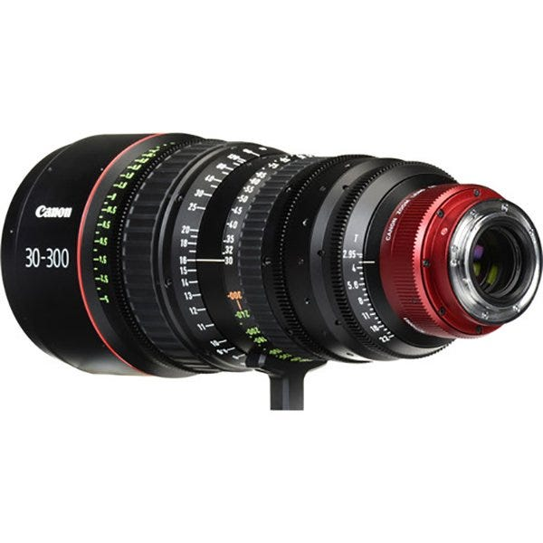 Canon CN-E 30-300mm T2.95-3.7 L SP Cinema Zoom Lens (Various)