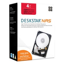 HGST 4TB 7200RPM NAS Internal drive Kit 3.5""