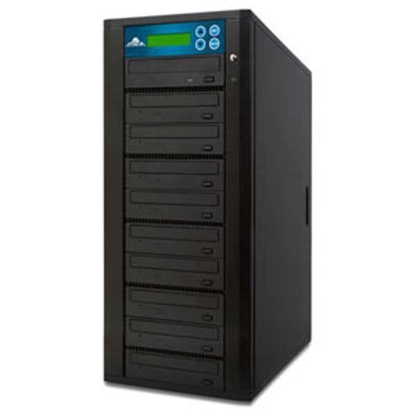 ILY Spartan Edge CD/DVD Duplicator Tower - 9 Drives