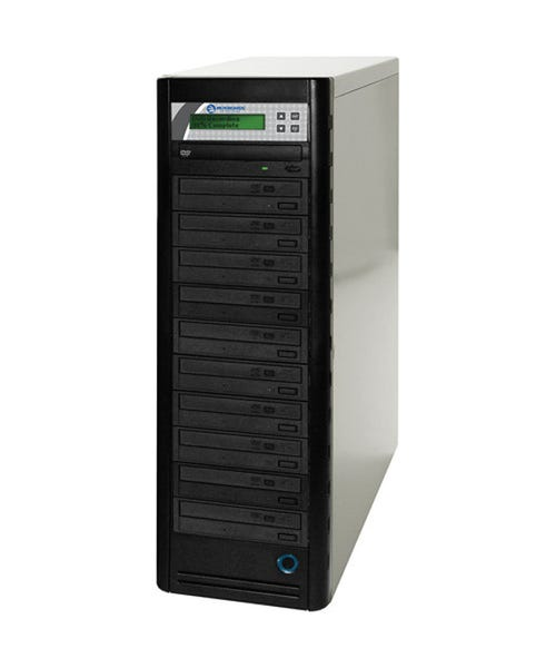 Microboards 10-Drive Daisy-Chainable DVD Tower