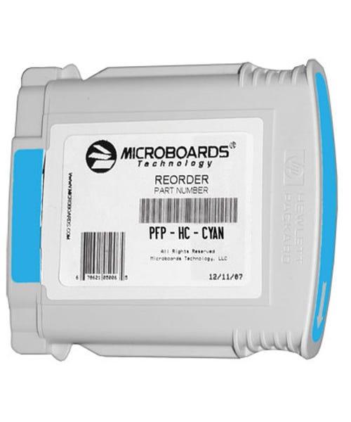 Microboards Ink Cartridge for Microboards MX1, MX2 & PF-Pro Printers - Cyan