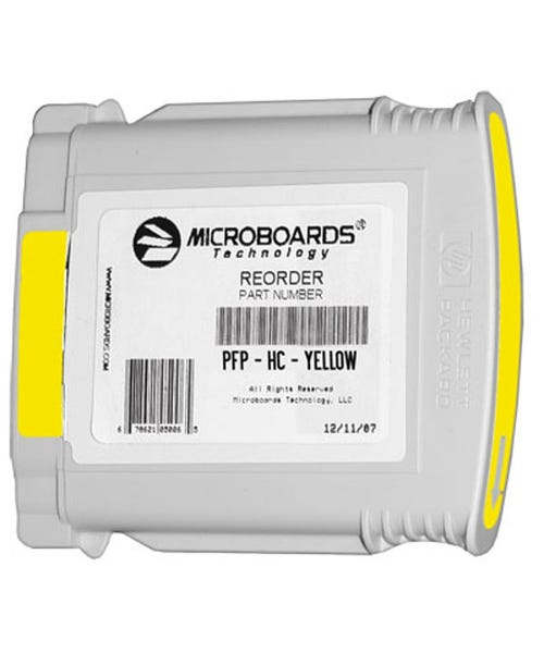 Microboards Ink Cartridge for Microboards MX1, MX2 & PF-Pro Printers - Yellow