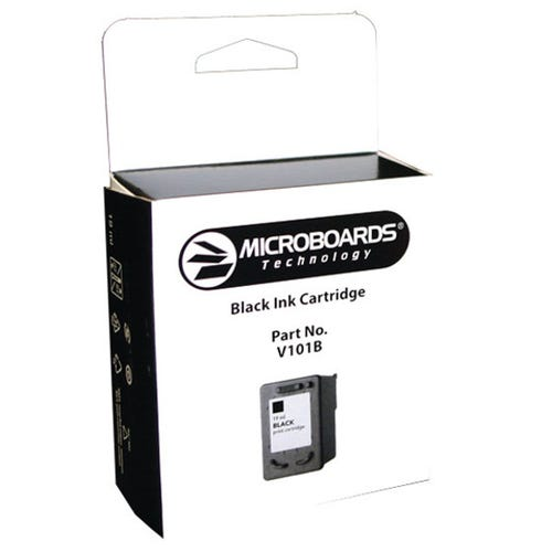 Microboards Black Ink Cartridge for the CX-1 and PF-3 Print Factories