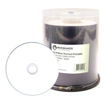 Microboards 52X Thermal White Hub Printable Everest 80 Min CD-R Cake-Box - 100pc