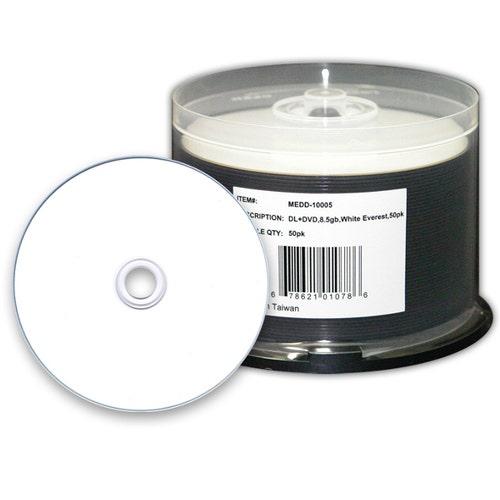 Microboards 8X  8.5GB Dual Layer-Everest-Thermal-W-Hub Print DVD+R - 50pc