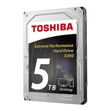 "Toshiba 5TB 3.5"" - SATA III Internal HDD X300"