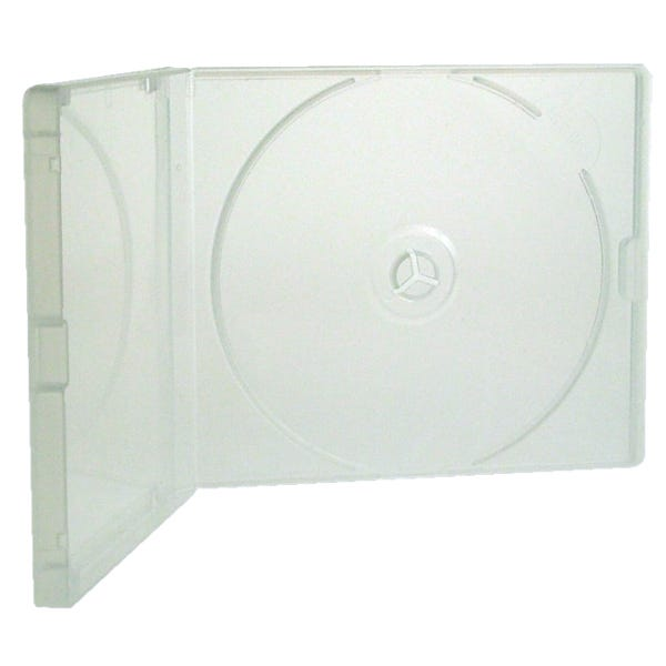 Polyline Polybox CD Jewel Case - Clear - Polypropylene