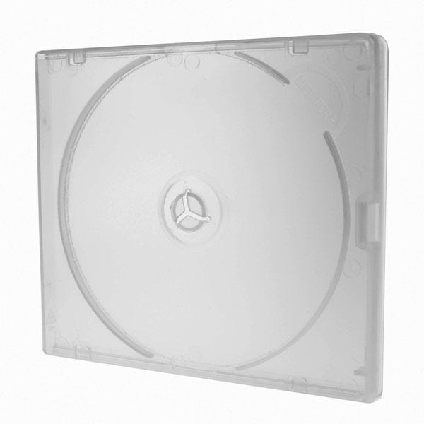 Polyline Polybox CD/DVD Case - Clear - Polypropylene - Overlay